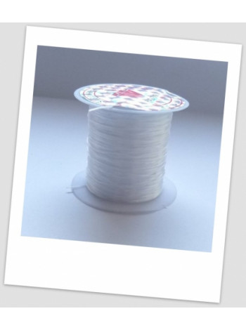 Резинка силиконовая для браслетов 0,8 мм, катушка - 9-10 метров