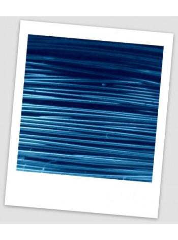 Проволока для рукоделия бижутерная, 0, 3, - морская волна