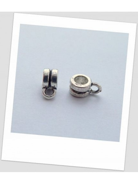 Бейл стальной металлический 6мм х 4мм, упаковка - 20 шт. (id:250001)
