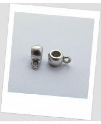 Бейл стальной металлический без узора 6мм х 4мм Цена за упаковку - 20 шт. (id:250002)