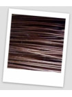 Проволока для бисероплетения, 0,3, цвет - коричневый, 10 метров