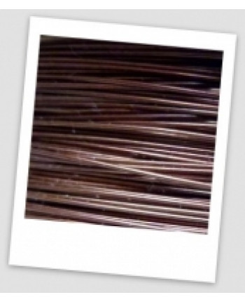 Проволока для бисероплетения, 0,3, цвет - коричневый, 10 метров (id:690007)
