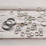 Колечки - серебро