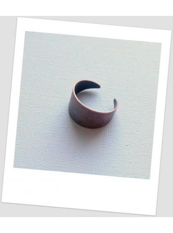 Основа для кольца металлическая медная, 17.5 мм