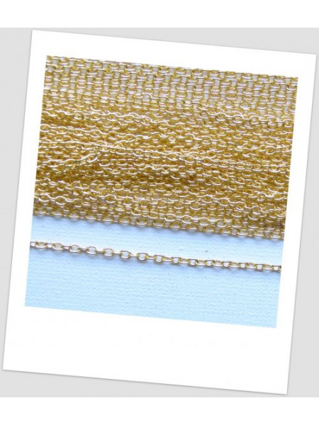 Цепь декоративная, цвет - золото 3 мм х 2 мм (id:630008)