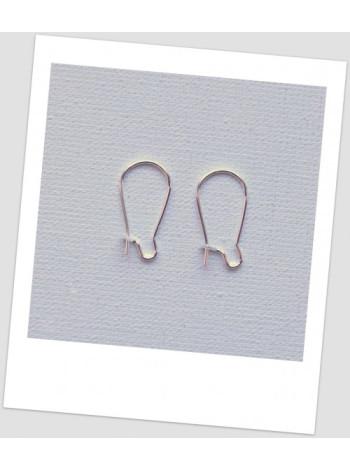 Швензы металлические 8,5 мм х 15 мм, цвет: серебряный, (маленькие). Цена за упаковку- 20 пар