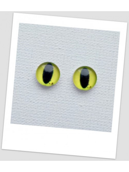 Глазки стеклянные для кукол и игрушек (пара), 14 мм (id:77855)