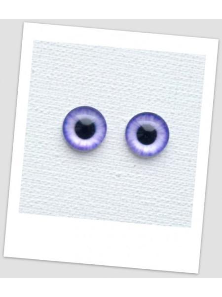 Глазки стеклянные для кукол и игрушек (пара), 8 мм (id:77004)