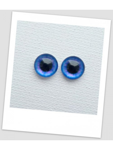 Глазки стеклянные для кукол и игрушек (пара), 10 мм (id:77050)
