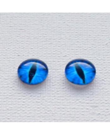 Глазки стеклянные для кукол и игрушек (пара), 10 мм (id:77293)