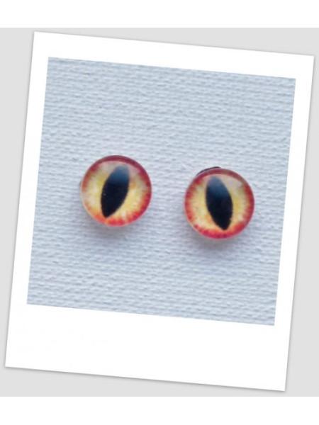 Глазки стеклянные для кукол и игрушек (пара), 18 мм (id:730047)