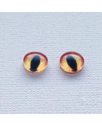 Глазки стеклянные для кукол и игрушек (пара), 10 мм (id:77295)