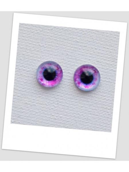 Глазки стеклянные для кукол и игрушек (пара), 12 мм (id:77093)
