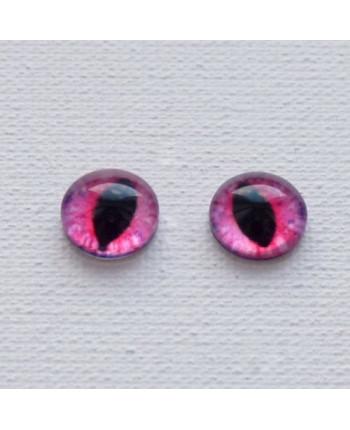Глазки стеклянные для кукол и игрушек (пара), 14 мм (id:77116)