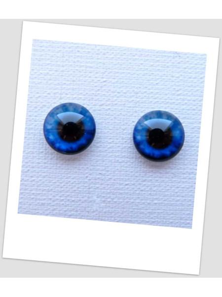 Глазки стеклянные для кукол и игрушек (пара), 8 мм (id:77257)