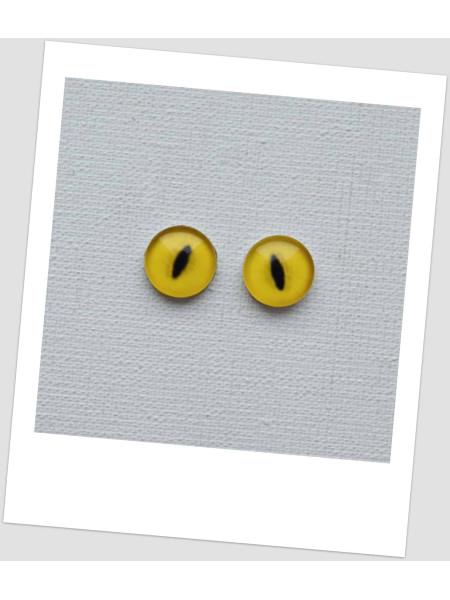 Глазки стеклянные для кукол и игрушек (пара), 8 мм (id:77361)