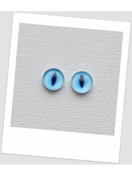 Глазки стеклянные для кукол и игрушек (пара), 8 мм (id:77388)
