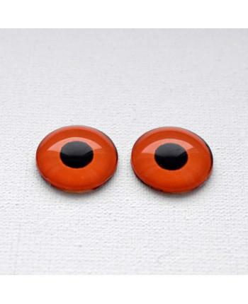 Глазки стеклянные для кукол и игрушек (пара), 18 мм (id:77389)
