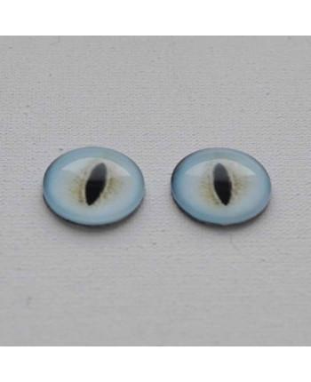 Глазки стеклянные для кукол и игрушек (пара), 30 мм (id:77368)