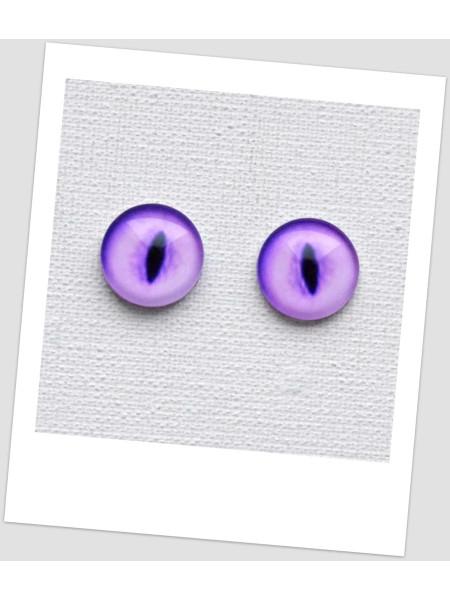 Глазки стеклянные для кукол и игрушек (пара), 10 мм (id:77367)