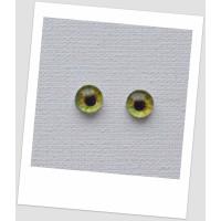 Глазки стеклянные для кукол и игрушек (пара), 6 мм (id:77518)