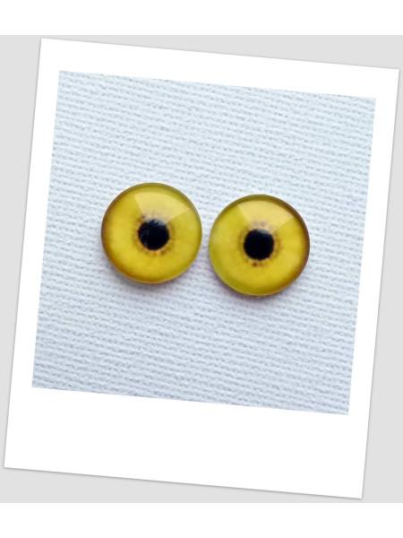 Глазки стеклянные для кукол и игрушек (пара), 16 мм (id:77348)