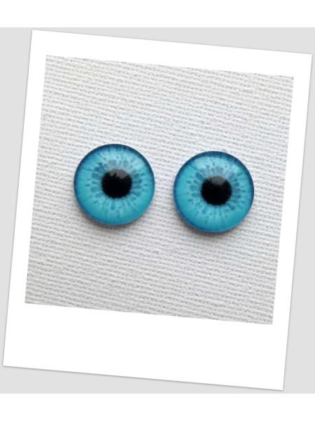 Глазки стеклянные для кукол и игрушек (пара), 8 мм (id:77376)