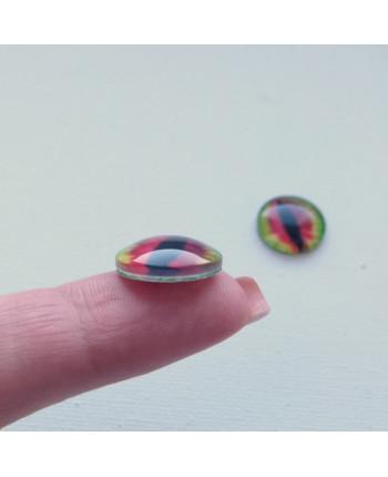 Глазки стеклянные для кукол и игрушек (пара), 14 мм (id:77555)