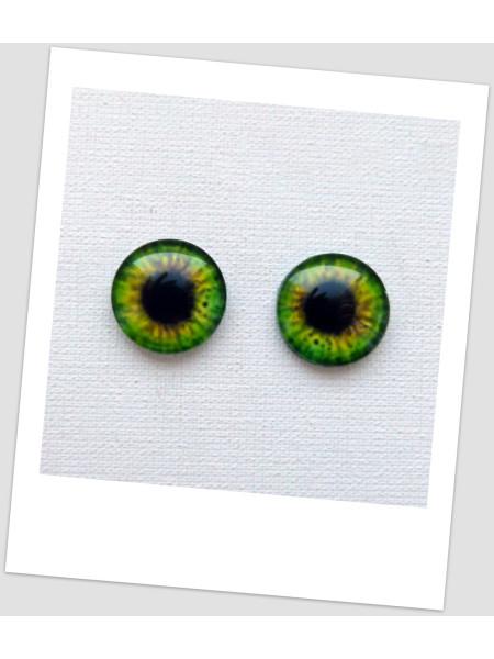 Глазки стеклянные для кукол и игрушек (пара), 18 мм (id:77485)