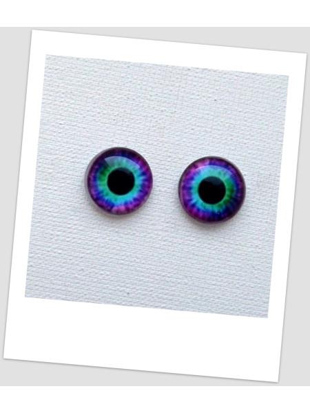 Глазки стеклянные для кукол и игрушек (пара), 20 мм (id:77505)