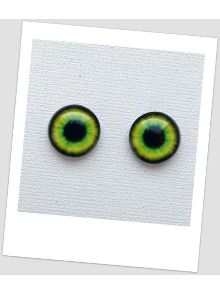 Глазки стеклянные для кукол и игрушек (пара), 16 мм (id:77463)