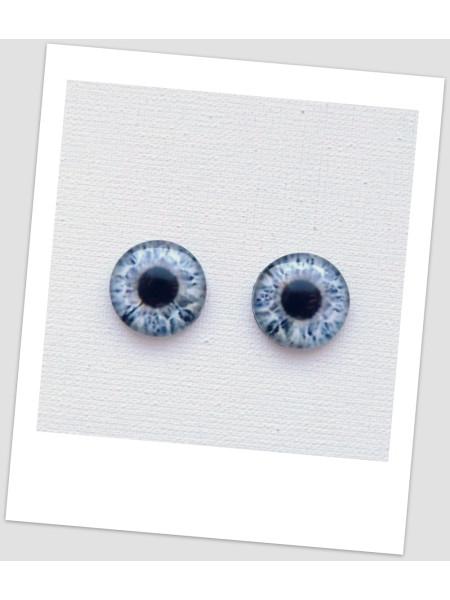 Глазки стеклянные для кукол и игрушек (пара), 16 мм (id:77467)