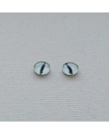 Глазки стеклянные для кукол и игрушек (пара), 6 мм (id:77516)