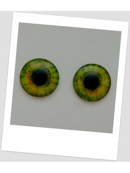 Глазки стеклянные для кукол и игрушек (пара), 30 мм (id:77873)