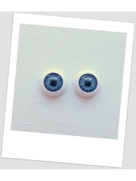 Глазки пластиковые для кукол и игрушек (пара), 12 мм (id:77164)