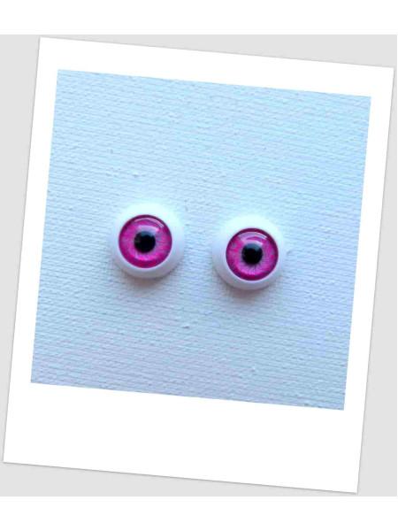 Глазки пластиковые для кукол и игрушек (пара), 12 мм (id:77166)