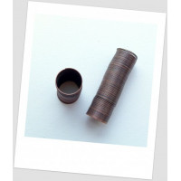 Проволока с памятью для колец, цвет медный, 0,6 мм, 20-22 мм диаметр (id:680009)