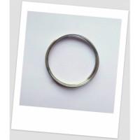 Мемори-проволока для браслета, стального цвета, 70 мм диаметром.