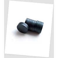 Ферритовый магнит круглый 25мм х 4mm, цена указана за 1 шт. (720032)