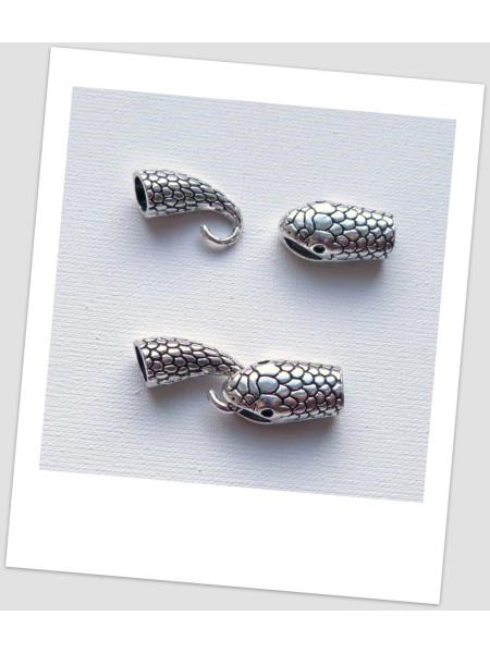 Концевик - тогл для браслетов металлический, 7 мм внутренний диаметр, цвет стальной (id:270071)