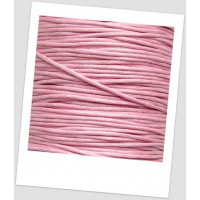 Шнур хлопковый вощеный 1 мм нежно розовый (id:500040)